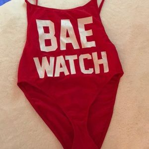 Other - bae watch one piece